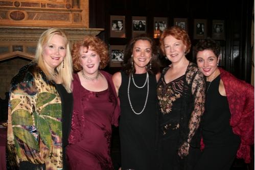Alice Frazier, Liz McCartney, Deborah Tranelli, Beth Fowler and Christine Andreas
