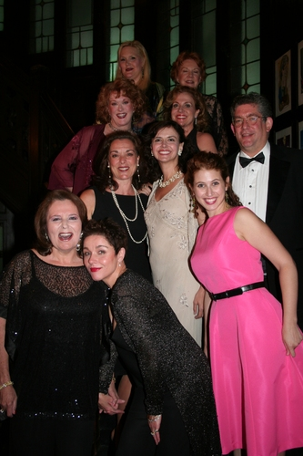 DIVA NIGHT! Cast and Creative Team, Alice Frazier, Beth Fowler,Liz McCartney, Anna Bergman, Deborah Tranelli, Christianne Tisdale, Paul Chamlin, Randie Levine-Miller,Christine Andreas and Rena Strober