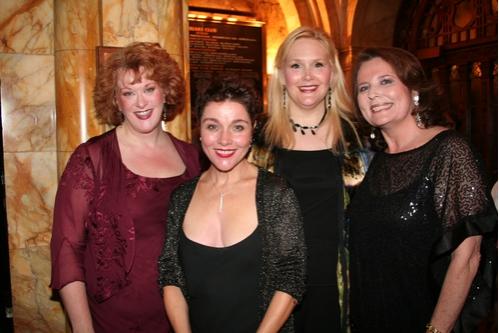 Liz McCartney, Christine Andreas, Alice Frazier and Randie Levine-Miller