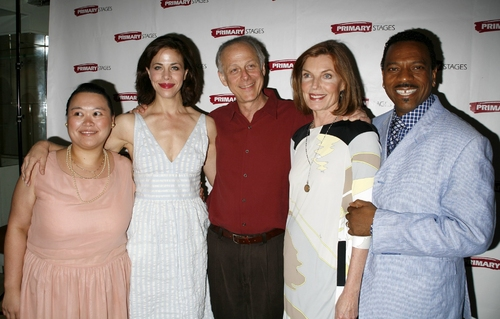 Carmen M. Herlihy, Jennifer Regan. Mark Blum. Susan Sullivan, and Dathan B. Williams Photo