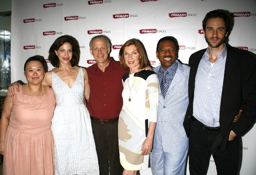 Carmen M. Herlihy, Jennifer Regan. Mark Blum. Susan Sullivan, Dathan B. Williams, and Photo