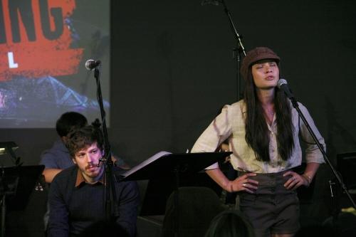 John Gallagher, Jr. and Lauren Pritchard