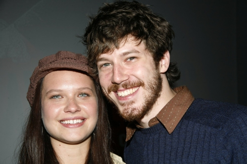 Lauren Pritchard and John Gallagher, Jr.