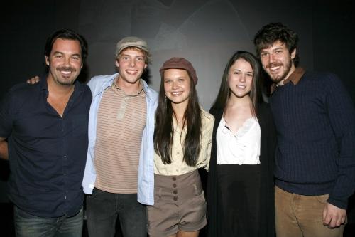 Duncan Sheik, Hunter Parrish, Lauren Pritchard, Alexandra Socha and John Gallagher, Jr.