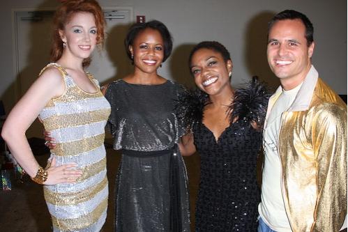 Casey Clark, Nikki Renée Daniels, Kenita Miller, and Chris Dilley