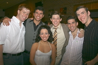 Rob Rodems, Michael Graceffa, Rachel Bertone, Michael Reckling, Andrew Holder, Jason T. Gaffney