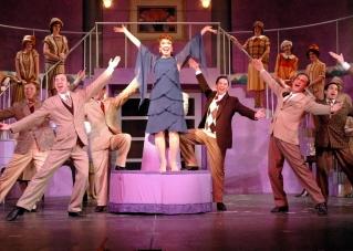 Donna McKechnie and chorus