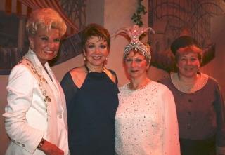 Waltham couturiere Yolanda, Donna McKechnie, Mary Jane Houdina, Jeannette A. McCarthy