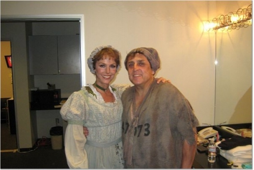Photo Coverage: Backstage at Les Miz at the Hollywood Bowl