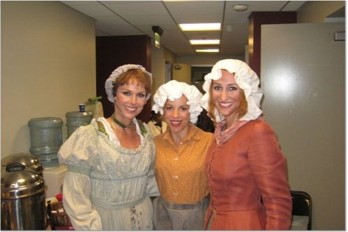 Melora Hardin, Jennifer Naimo and Lesley McKinnel