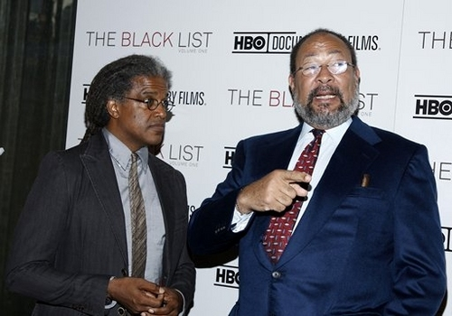 Elvis Mitchell and Richard Parsons