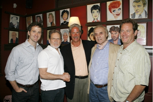 Jim True-Frost, Robert Foxworth, Troy West, Michael McGuire and Brian Kerwin Photo