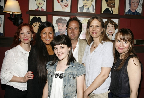 Mariann Mayberry, Kimberly Norris Guerrero, Madeline Martin, Steve Traxler, Amy Morton and Sally Murphy