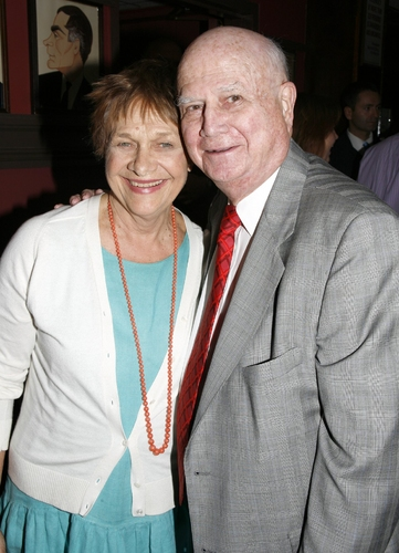 Estelle Parsons and Gerald Schoenfeld