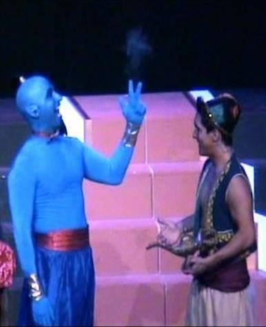 Scott Damian (Genie) and Michael Navarro