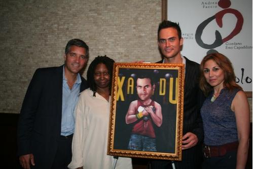 Photo Coverage: Cheyenne Jackson Portrait Unveiled at Tony's DiNapoli