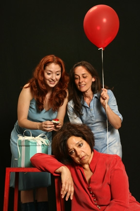 Kathryn Kates, Marielle Heller and Birgit Huppuch