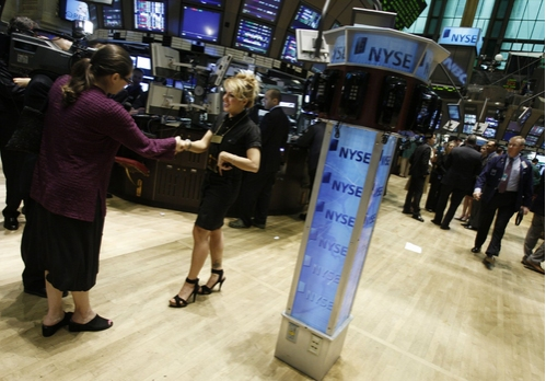 Photo Coverage: Orfeh Rings the Opening Bell at the NYSE