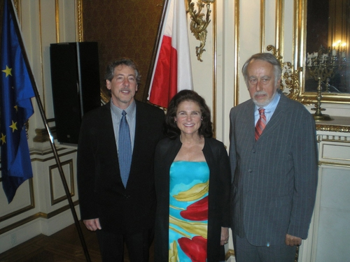 Photos: Tovah Feldshuh and 'Irena's Vow' Cast Visits Consulate General of Poland