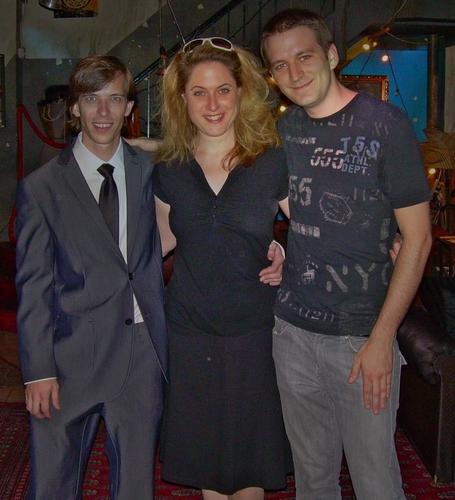 Joe Drymala, Lisa Lambert and Ryan J. Davis