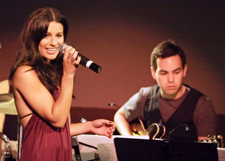 Photo Flash: Lea Michele Makes Her Sold Out LA Upright Cabaret Debut
