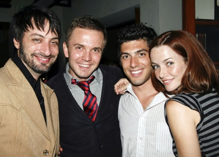Stephen Full, Shane Scheel, Steve Mazurek and Annie Wersching