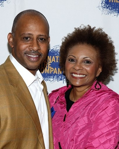 Ruben Santiago-Hudson and Leslie Uggams  Photo