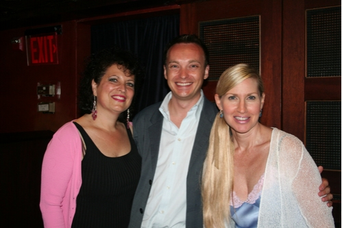 Laurie Krauz, Kristopher McDowell and Luba Mason Photo