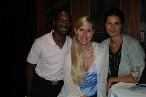John Johnson, Luba Mason and Cara Yeates