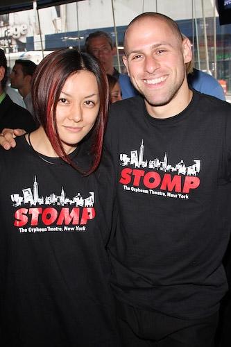 Stomp's Yako Miyamoto and Dan Weiner Photo