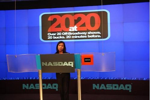 Maribel Aber, VP Nasdaq