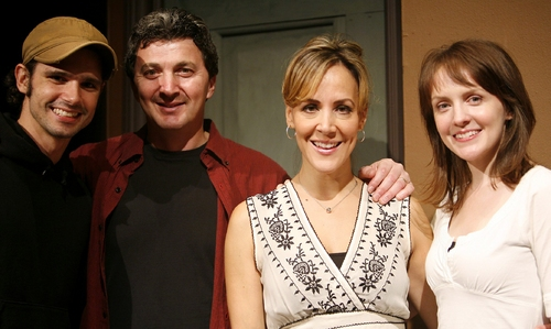 Robb Sapp, Paul Binotto, Janine LaManna and Betsy Lellio