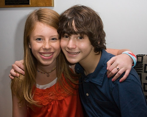 Allie Trimm and Aaron Simon Gross Photo