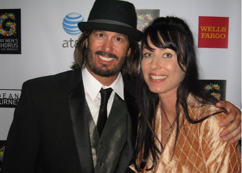 John Anderson and Erin Hamilton