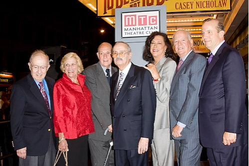Harvey Sabinson, Shirley Herz, Bob Ullman, Lewis Bernstein, Lynne Meadow, and Peter J. Solomon