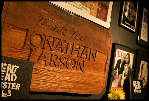 Photo Flash: Life Cafe Dedication in Honor of RENT Creator Jonathan Larson