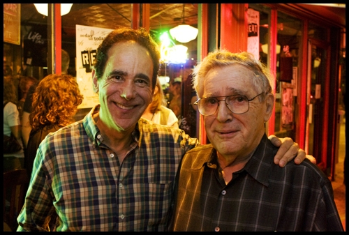 Rent producer Allan S. Gordon and Jonathan's father, Allan Larson Photo