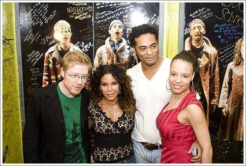 Anthony Rapp, Daphne Rubin-Vega, and Antonique Smith