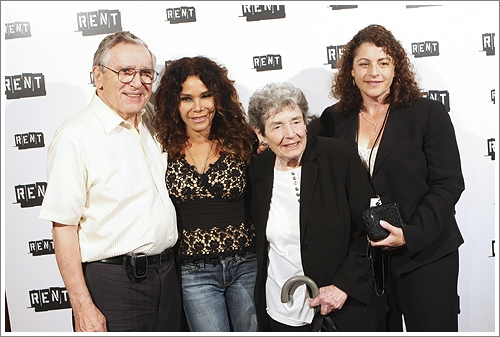 Allan Larson, Daphne Rubin-Vega, Nan Larson and Julie Larson