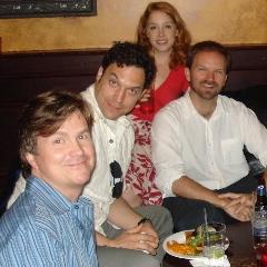 Jeffrey Jackson, Aaron Serotsky (Capt. Walton), Casey Clark and Patrick Mellen