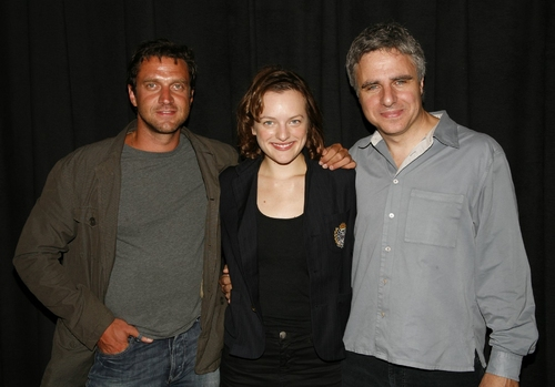 Raul Esparza, Elisabeth Moss and Neil Pepe Photo