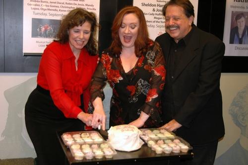 Kayce Glasse, Lisa Asher and Ellis Nassour   Photo