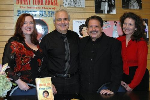 Lisa Asher, Peter Filichia, Ellis Nassour, and Kayce Glasse