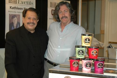 Ellis Nassour and Steven Clark (Wine Cellar Sorbet)