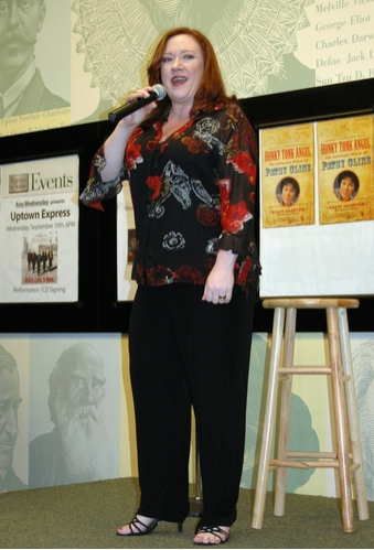 Lisa Asher at Nassour, Asher and Glasse Celebrate 'Honky Tonk Angel' at Barnes & Noble