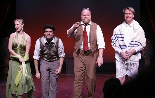 Photo Coverage: 'Enter Laughing': Curtain Call and After Party