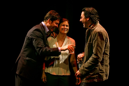 Dylan McDermott, Maura Tierney and Scott Cohen