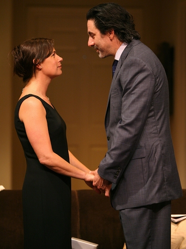 Maura Tierney and Scott Cohen
