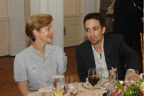 Photo Flash: Lin-Manuel Miranda Honored by National Hispanic Foundation
