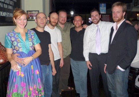 Kim Martin Cotton, Jacques Roy, Andrew Zimmerman, Matthew Johnson, Jeremy Bloker, Norman Lasca and Geordie Broadwater
